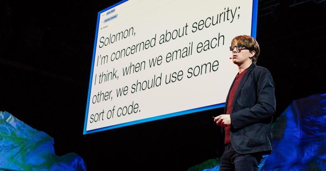 ejemplo de james veitch para email marketing