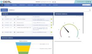 Mettre un KPI dans mon dashboard de CRM avec E-DEAL CRM