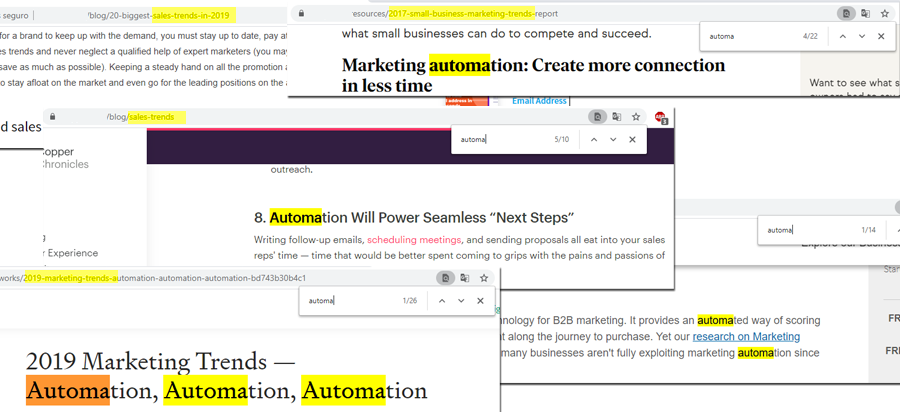 Automation and Sales
