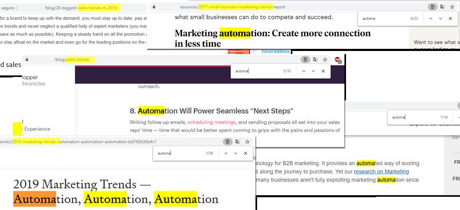 Automatisation des ventes