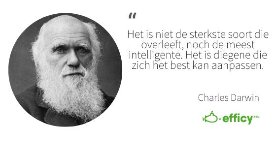 Charles Darwin natuurlijke selectie