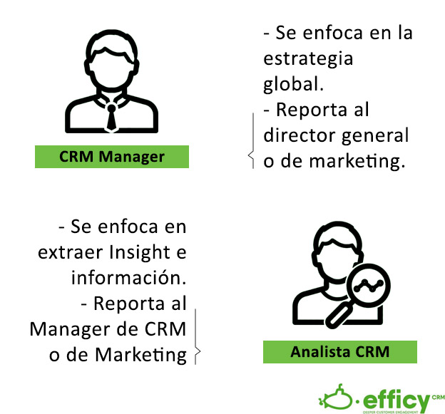 CRM Manager vs Analista CRM