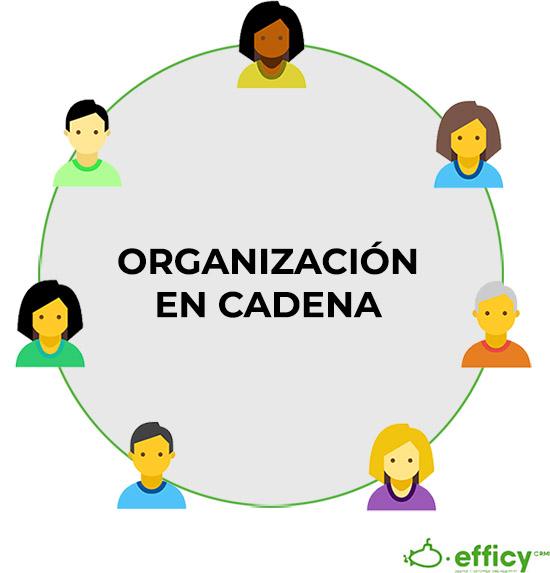 organizacion de ventas en cadena