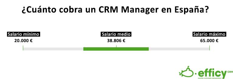salario CRM Manager