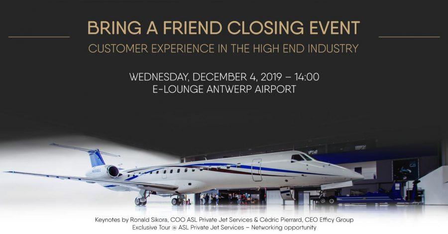 Bring a Friend Closing Event