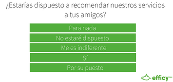 likert scale 5 points - escala likert 5 puntos