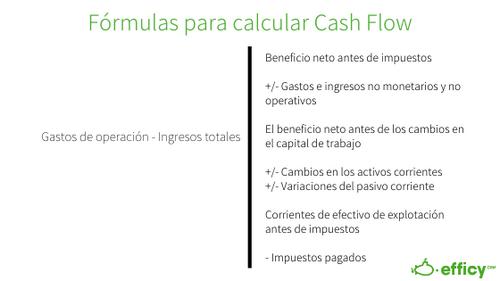 cash flow formula