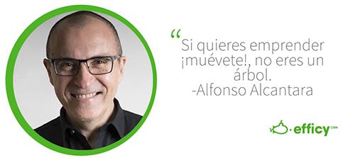 Frase Alfonso Alcantara
