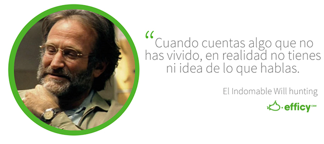 Frase de El Indomable Will hunting