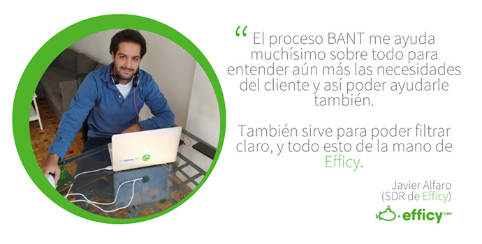 Javier habla del uso del Bant