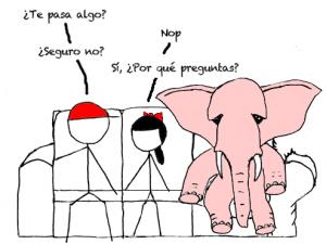 elefante habitacion