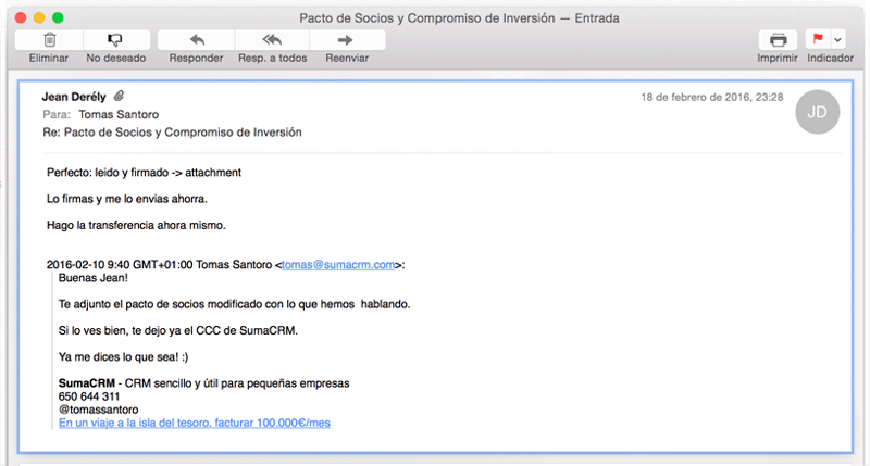 email pacto socios