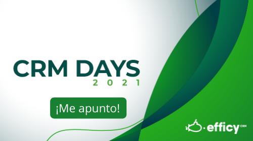 Me apunto al CRM Days 2021